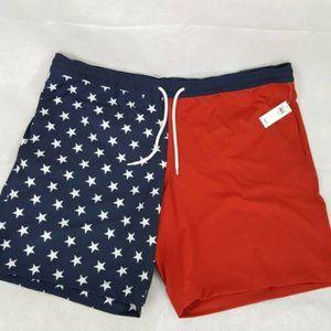 GAP Patriotic Pool Shorts Flag XL/XXL